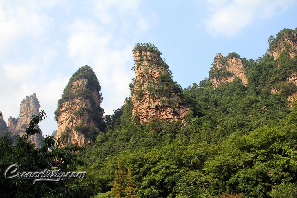 Mountains of Zhang Jia Jie
